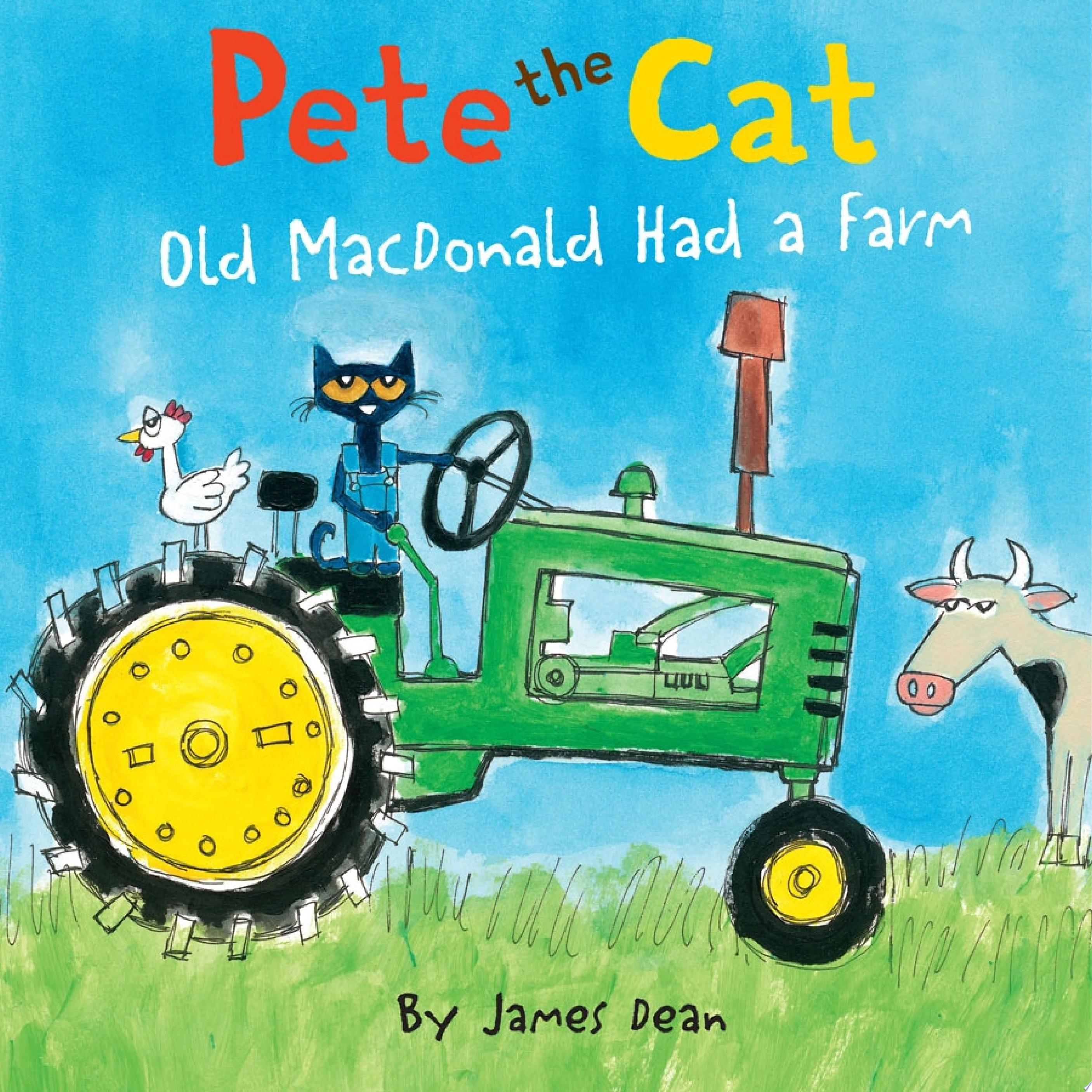 "Image for ""Pete the Cat: Old MacDonald Had a Farm"""