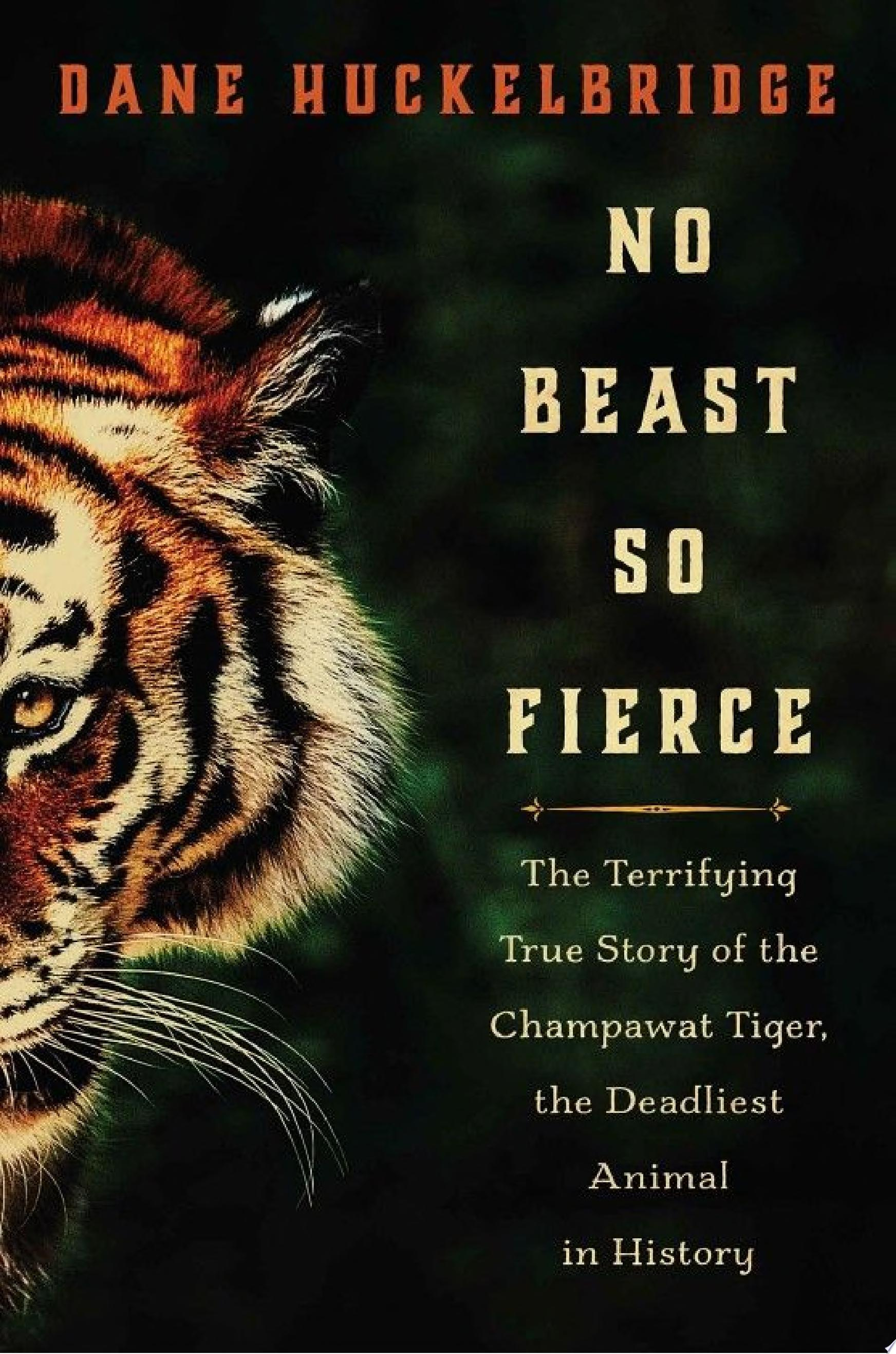 "Image for ""No Beast So Fierce"""