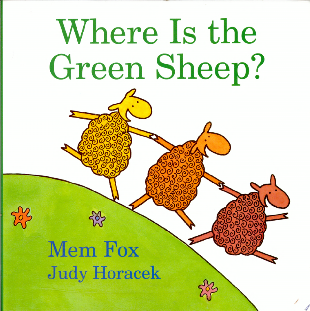 "Image for ""Where is the Green Sheep?"""