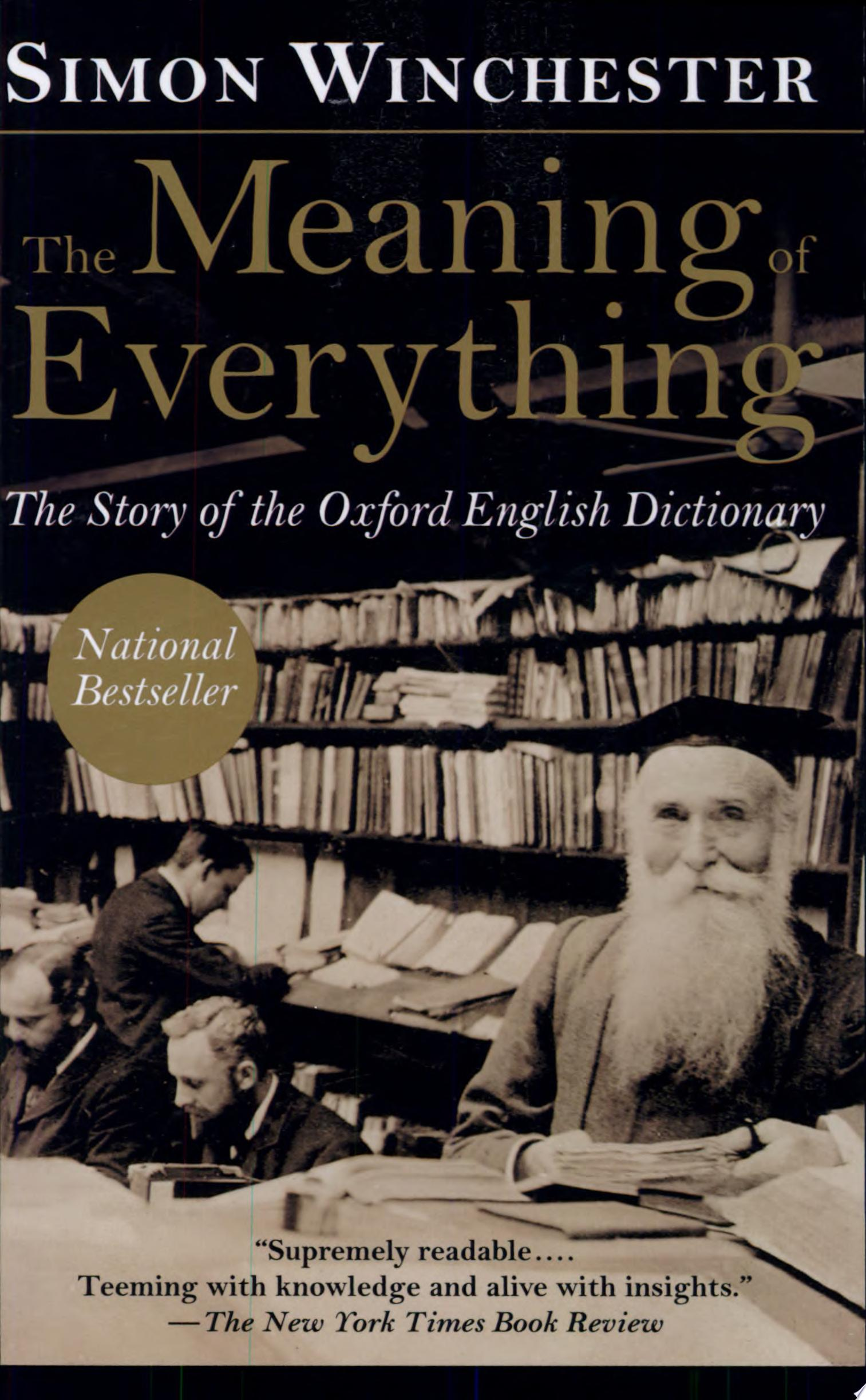 "Image for ""The Meaning of Everything"""