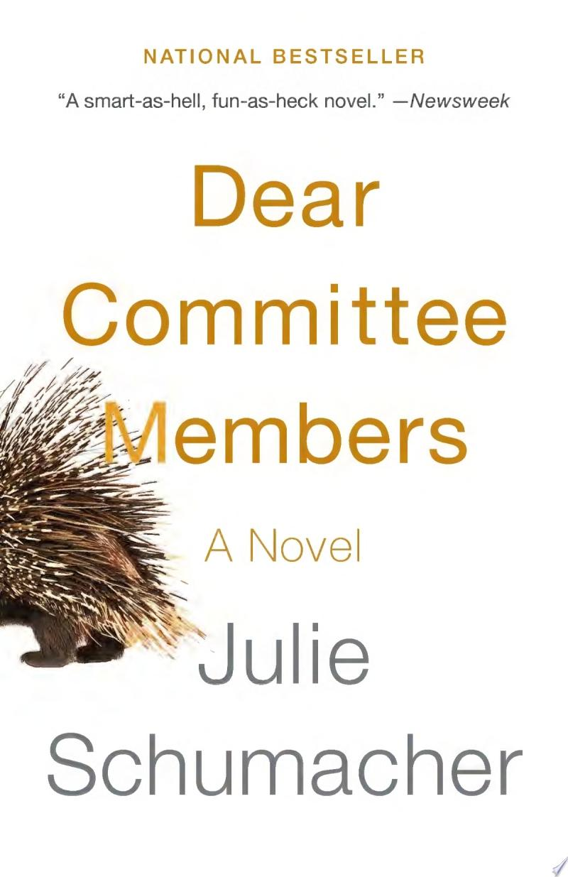 "Image for ""Dear Committee Members"""