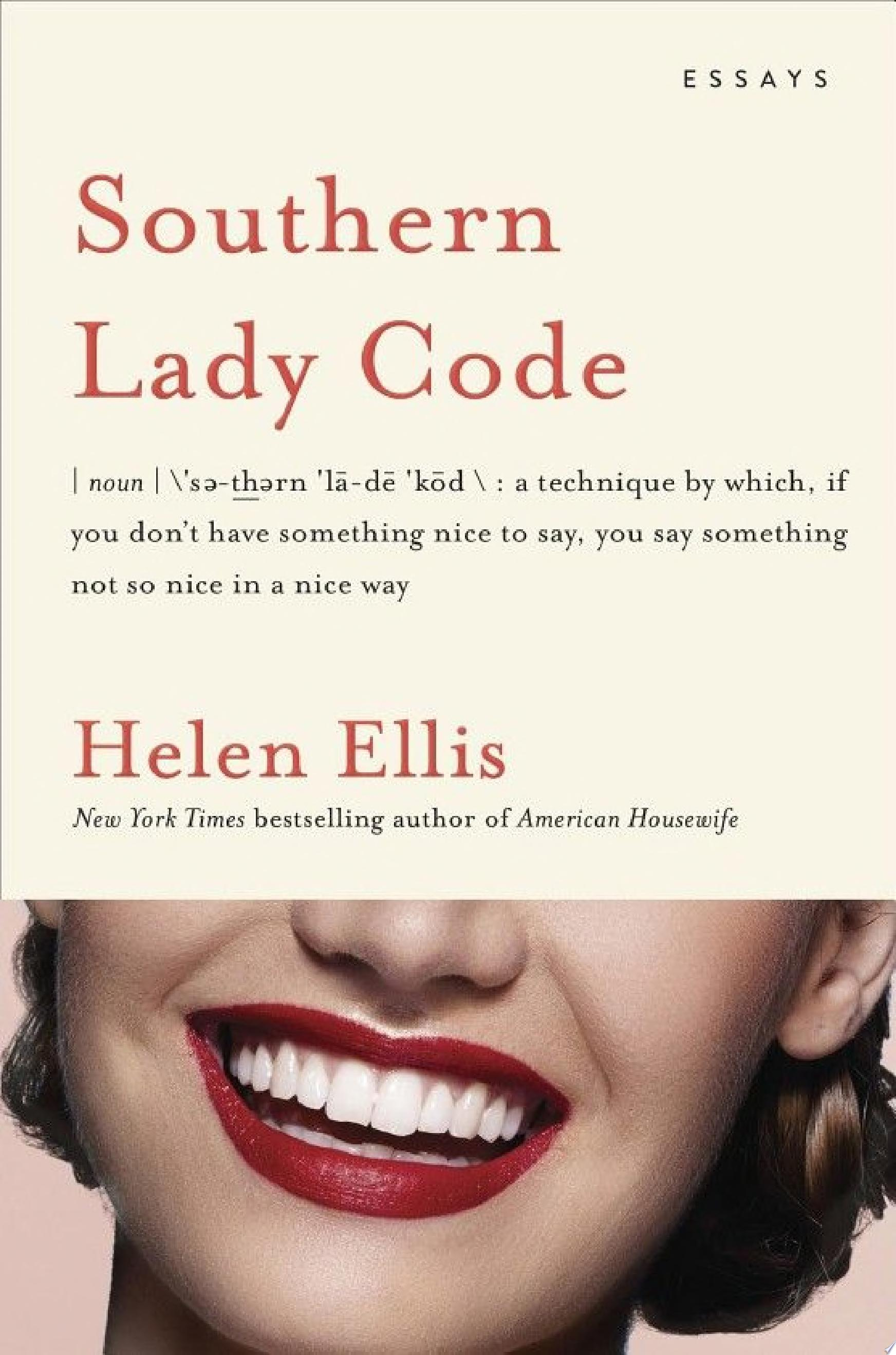 "Image for ""Southern Lady Code"""