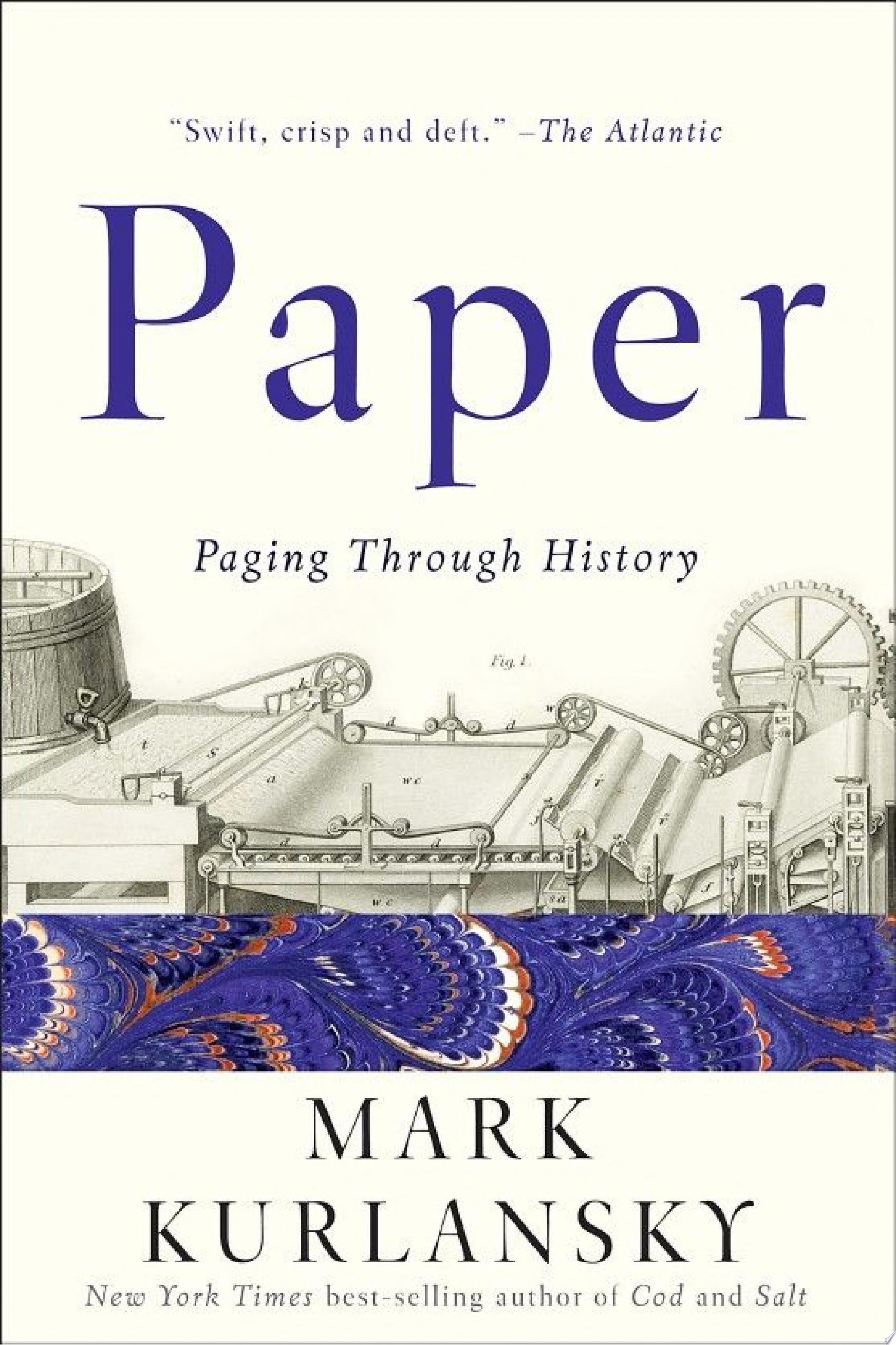 "Image for ""Paper: Paging Through History"""