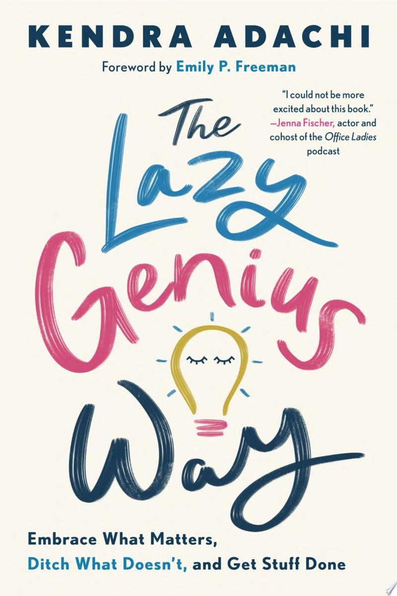 "Image for ""The Lazy Genius Way"""
