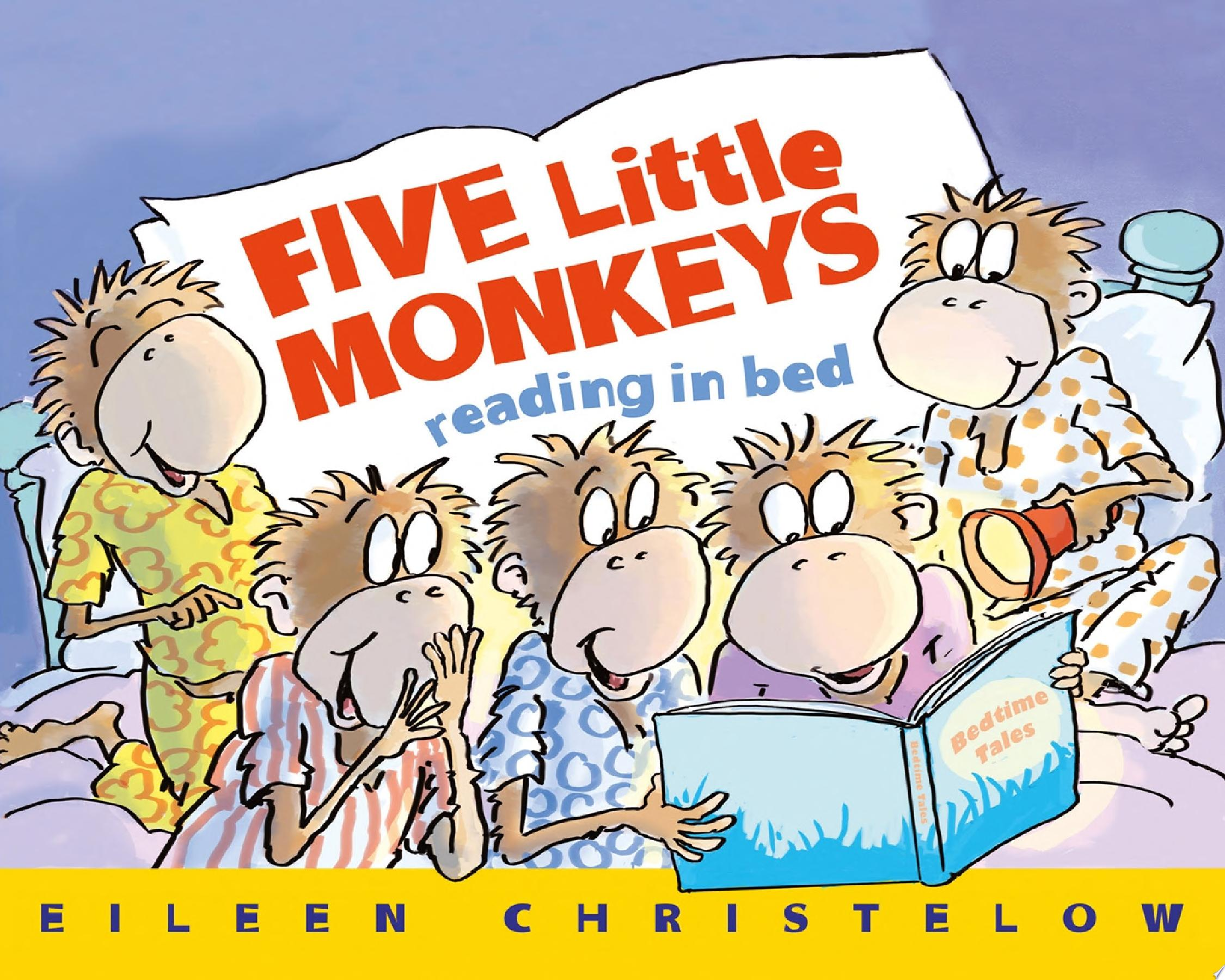 "Image for ""Five Little Monkeys Reading in Bed"""