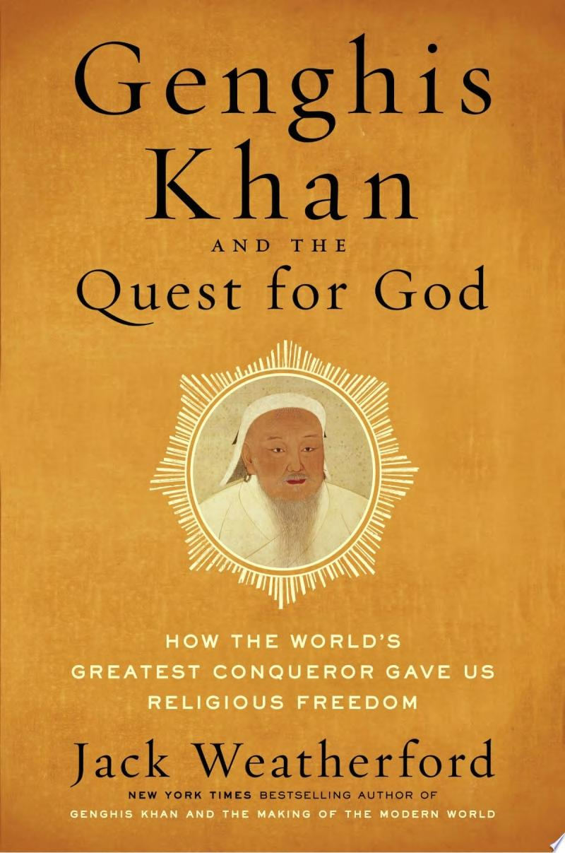 "Image for ""Genghis Khan and the Quest for God"""