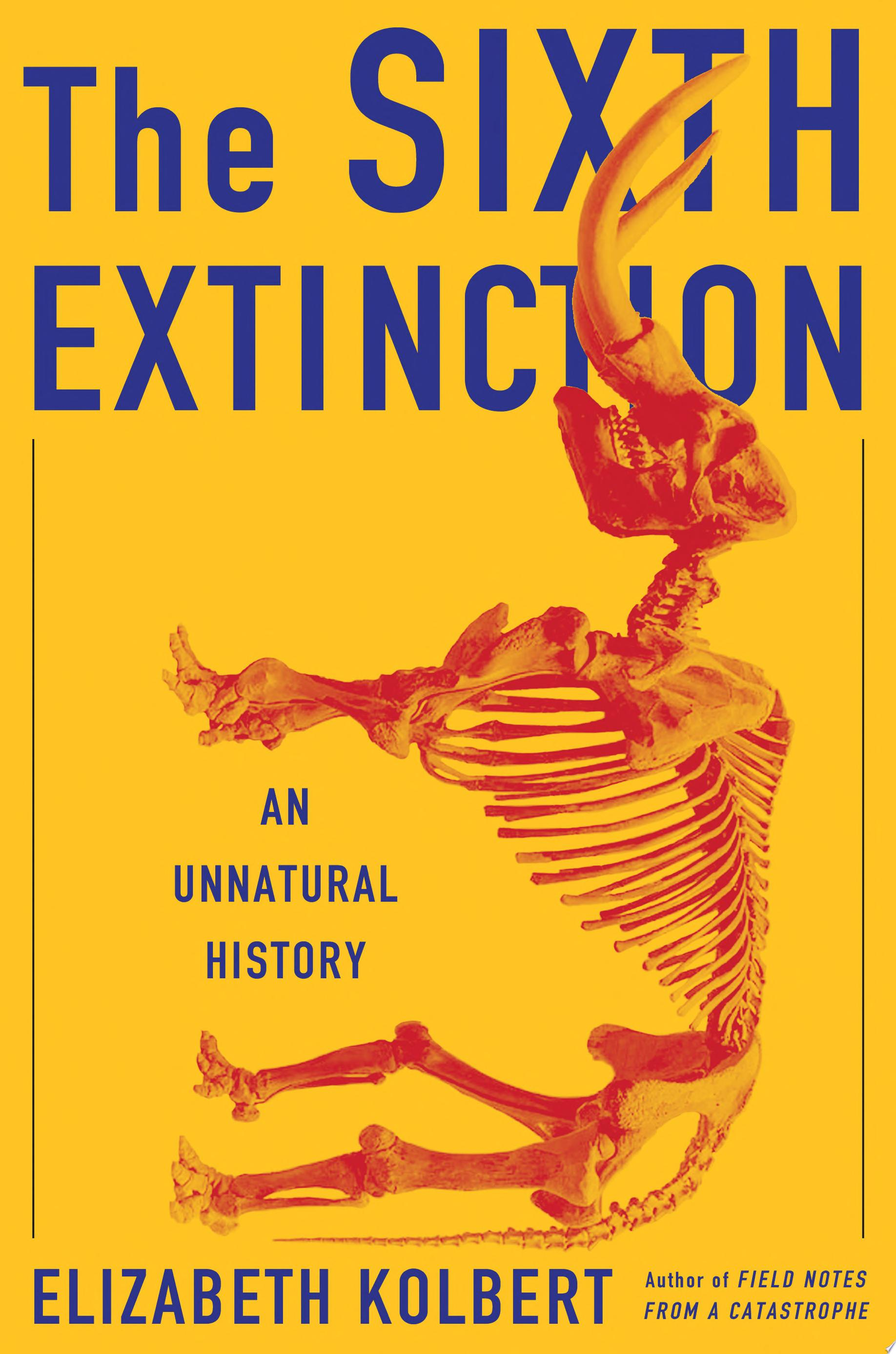"Image for ""The Sixth Extinction"""