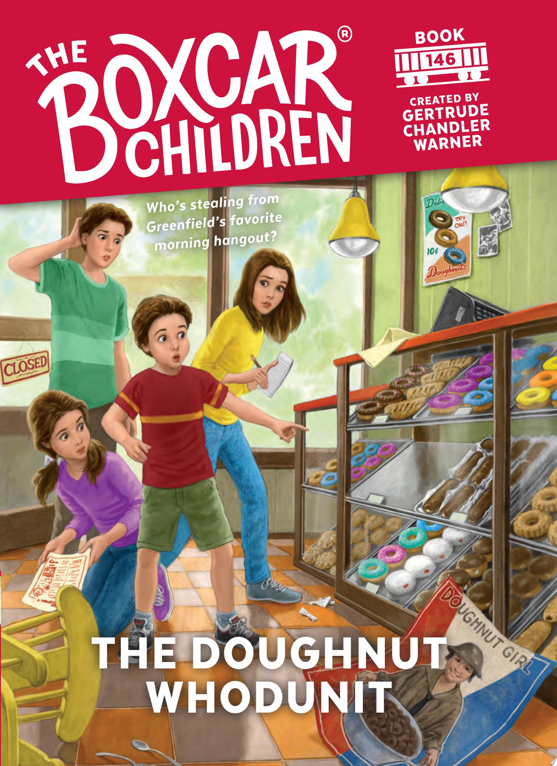 "Image for ""The Doughnut Whodunit"""