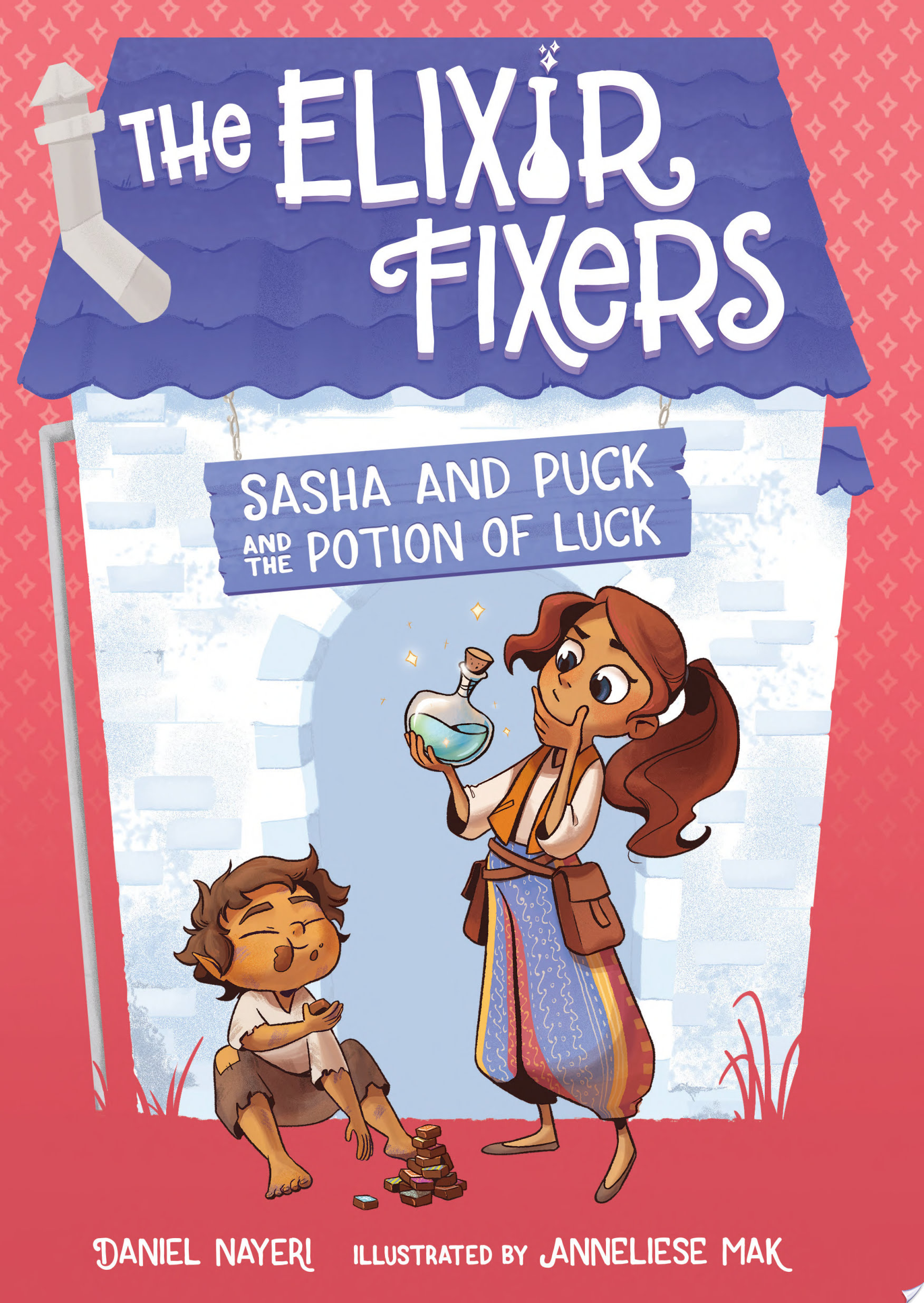 "Image for ""Sasha and Puck and the Potion of Luck"""