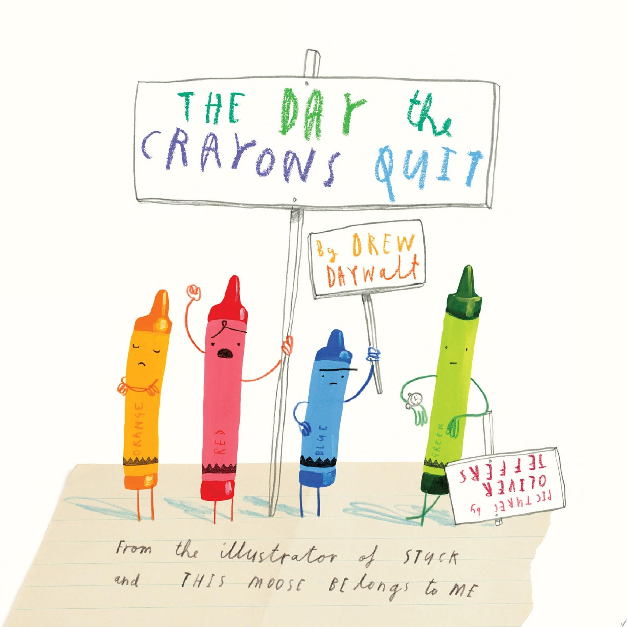 "Image for ""The Day the Crayons Quit"""