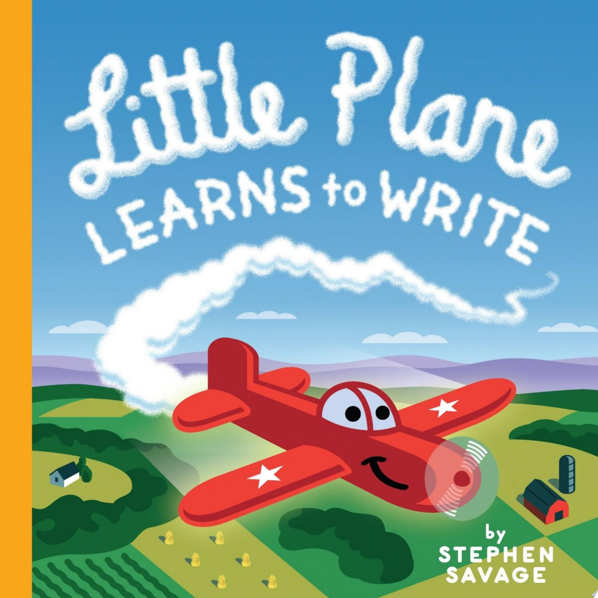 "Image for ""Little Plane Learns to Write"""