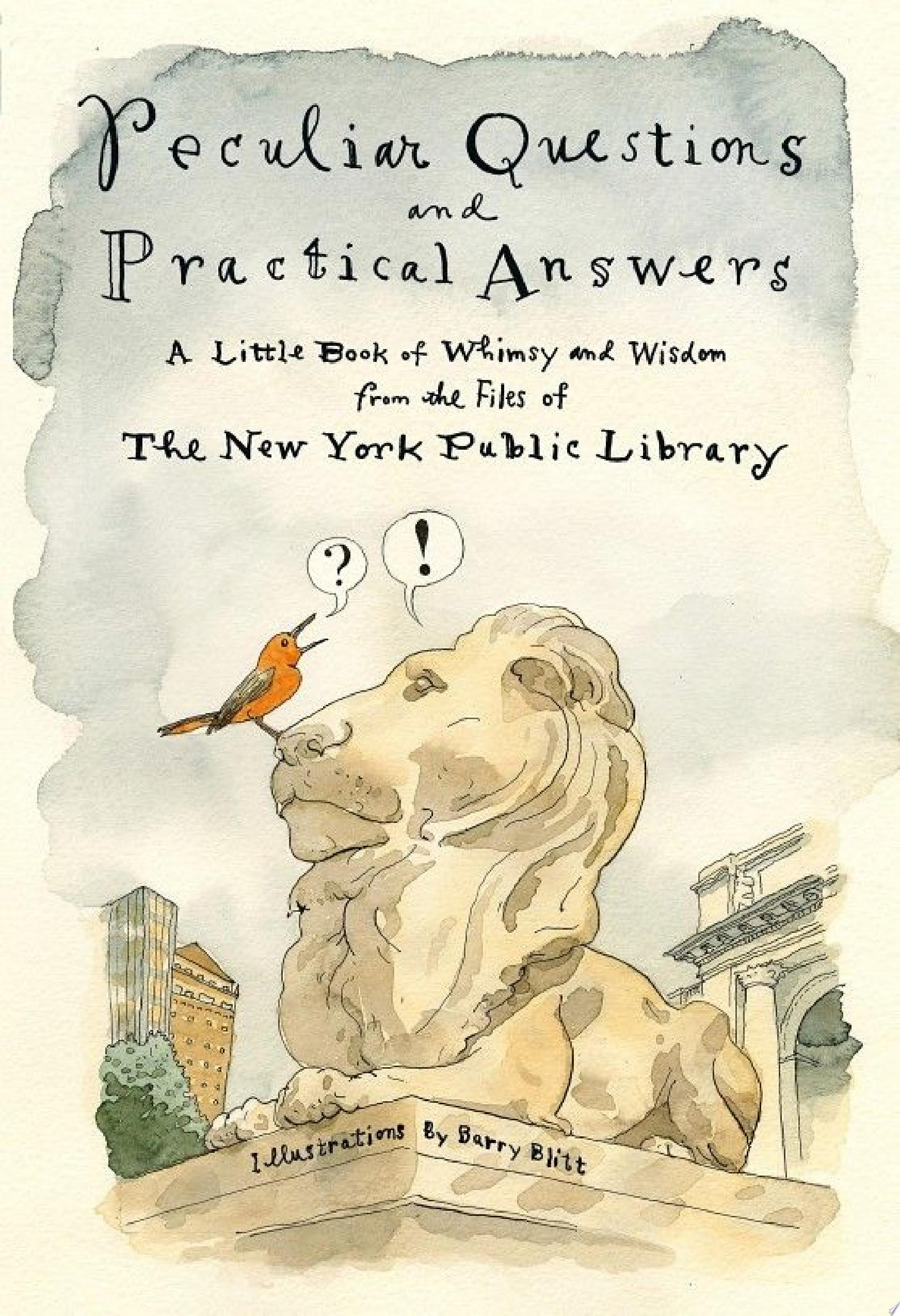 "Image for ""Peculiar Questions and Practical Answers"""