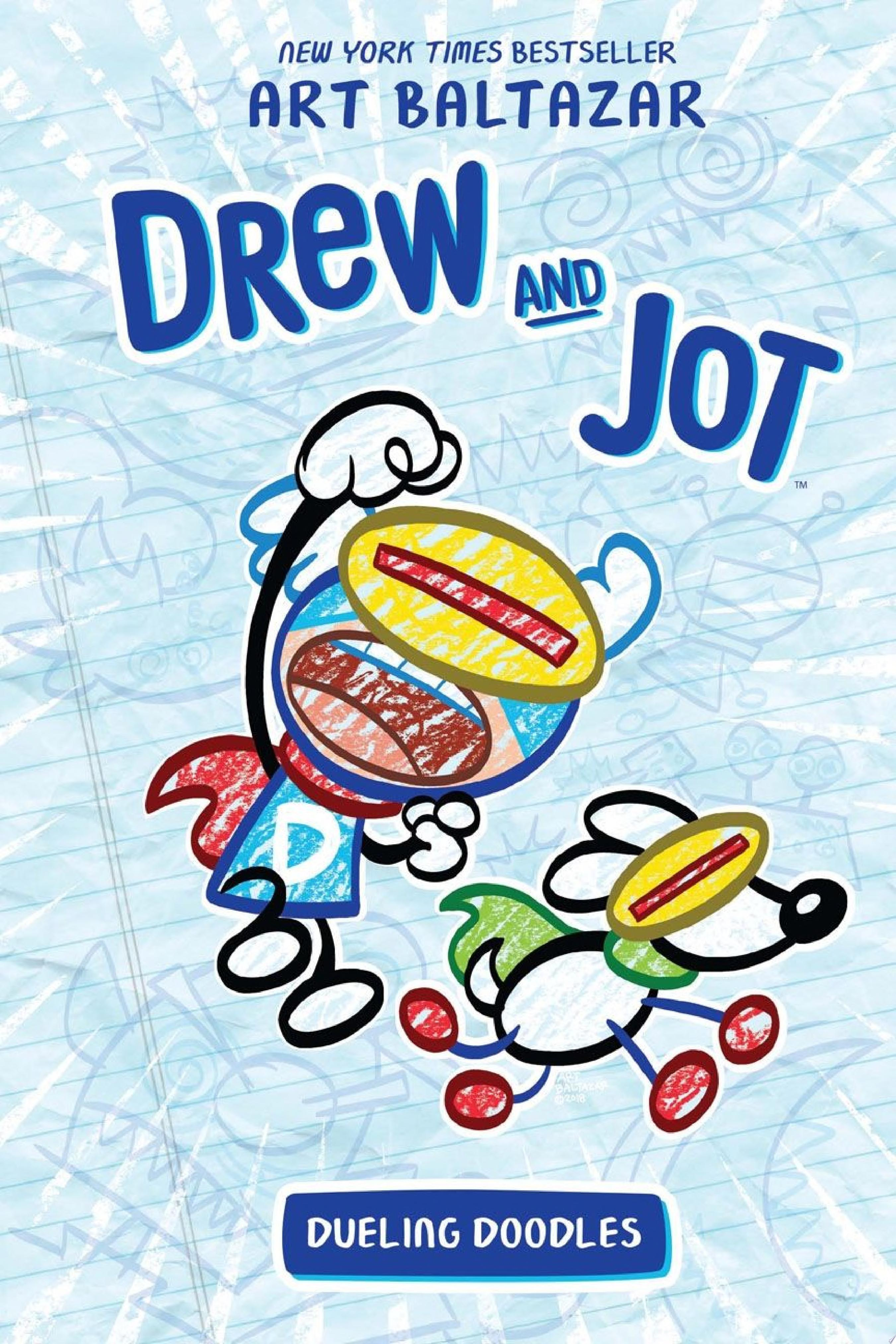 "Image for ""Drew and Jot: Dueling Doodles"""