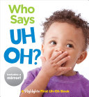 "Image for ""Who Says Uh Oh?"""