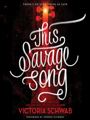 "Image for ""This Savage Song"""