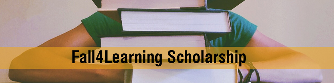Fall4Learning Scholarship banner