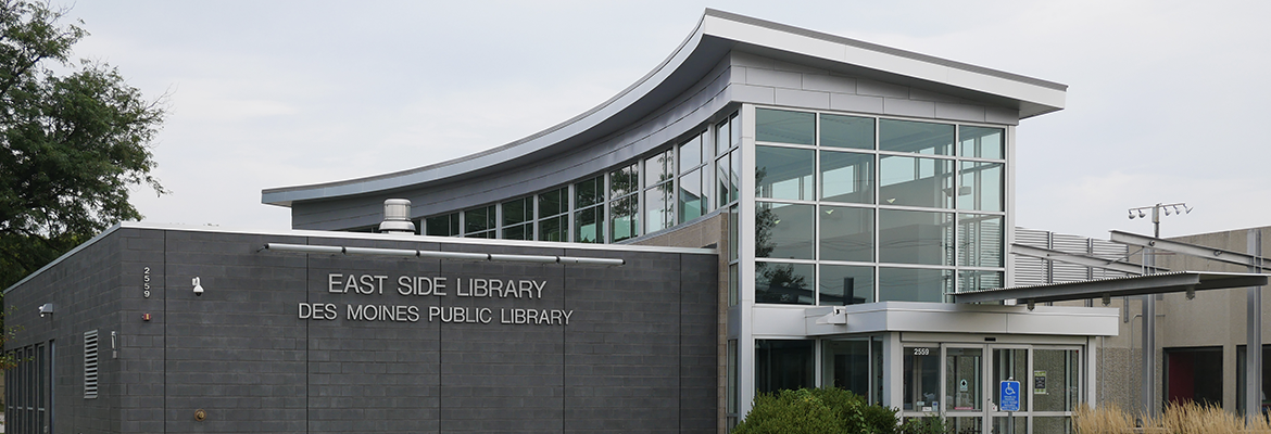 East Side Library exterior shot