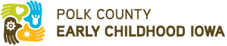 Polk County Early Childhood Iowa logo