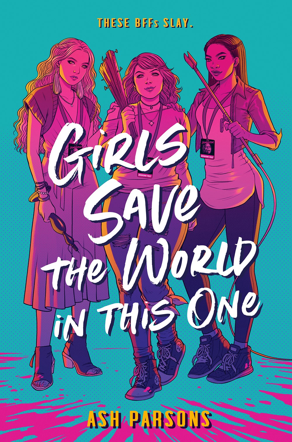 Image for Girls Save the World in This One by Ash Parsons