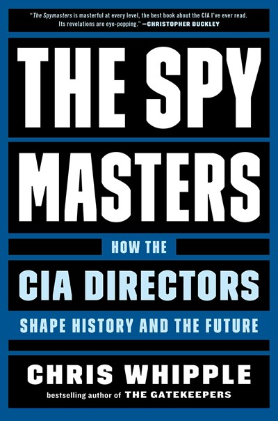 "cover of ""The Spymasters"""