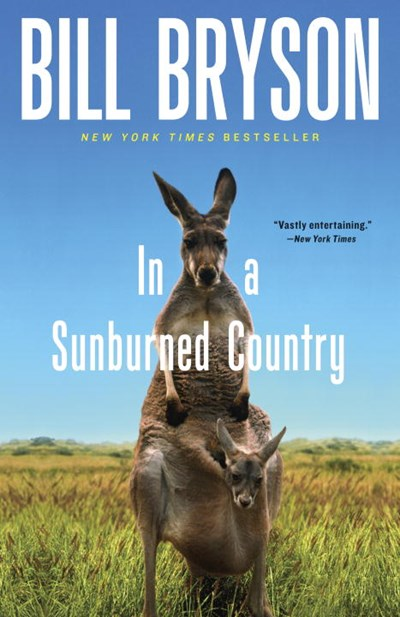 cover of 'in a sunburned country""
