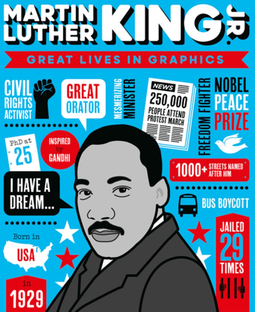 "Image for ""Great Lives in Graphics: Martin Luther King"""