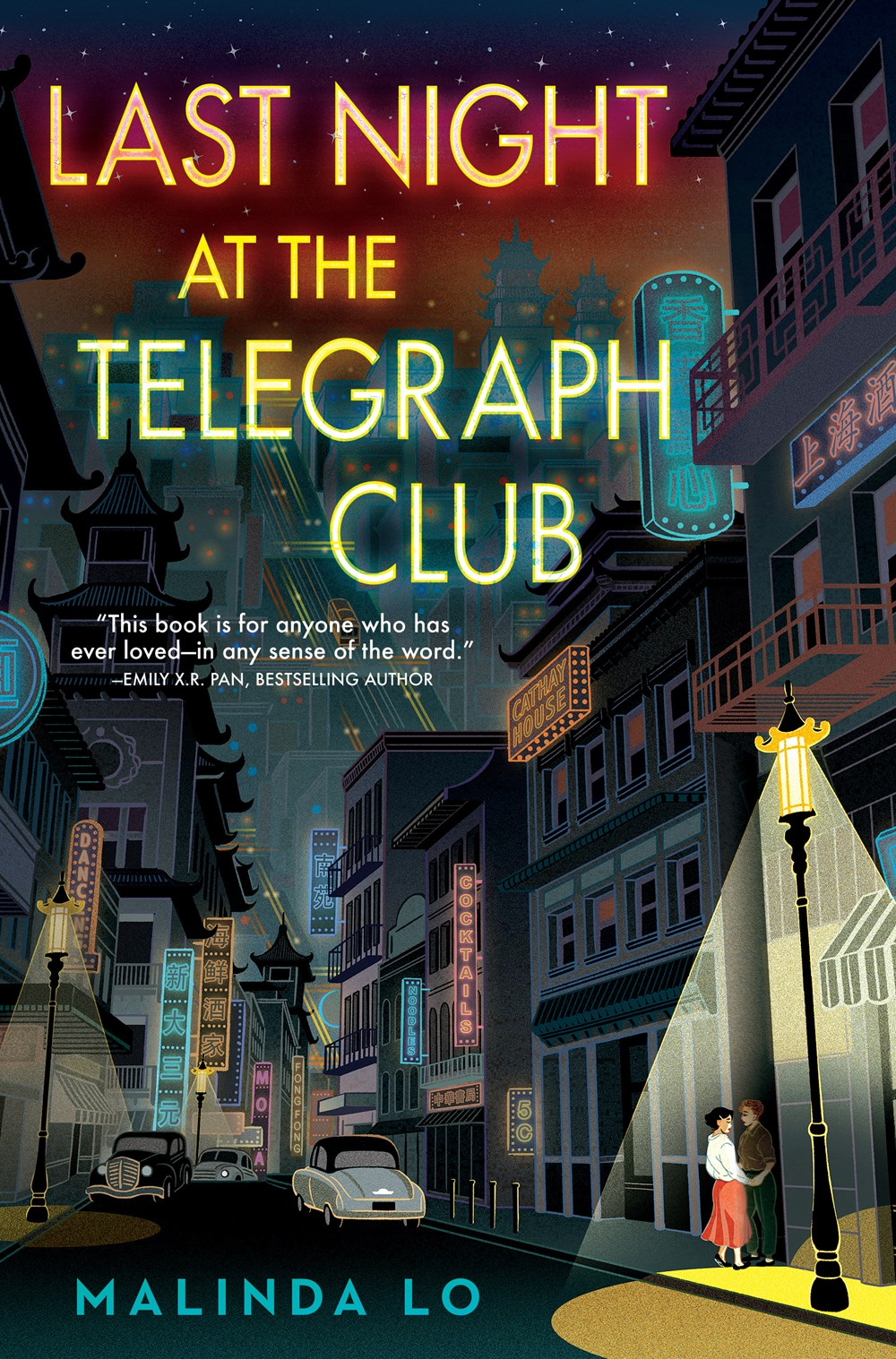 "Image for ""Last Night at the Telegraph Club"""