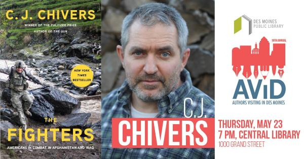 DMPL Podcast: AViD Author C.J. Chivers Graphic