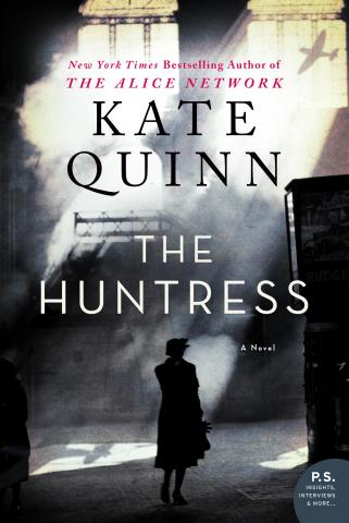 The Huntress Cover