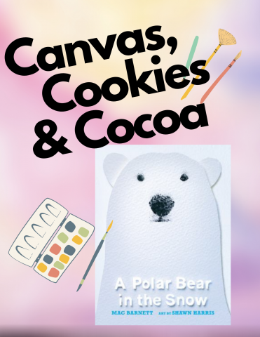 Canvas Cookies and cocoa