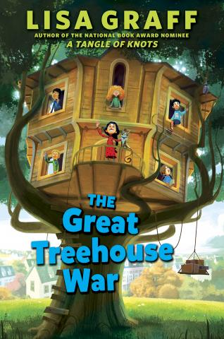The Great Treehouse War, by Lisa Graff