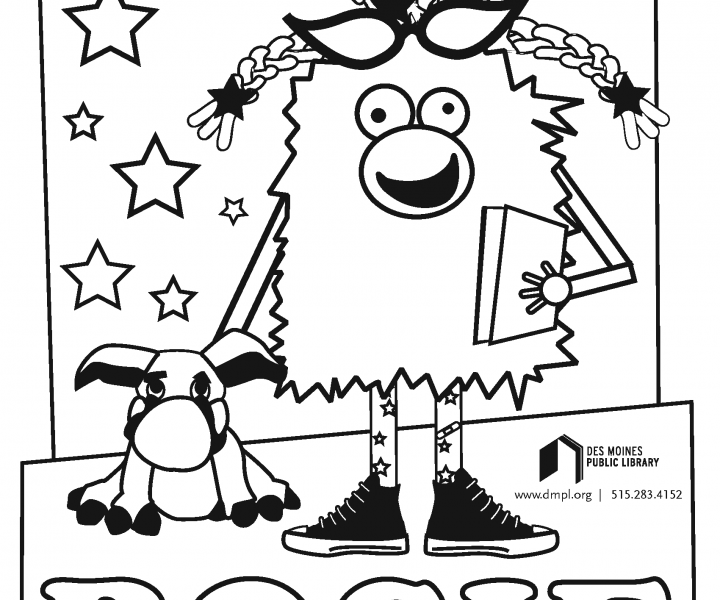 Rosie coloring sheet
