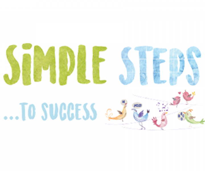 Simple steps to success logo