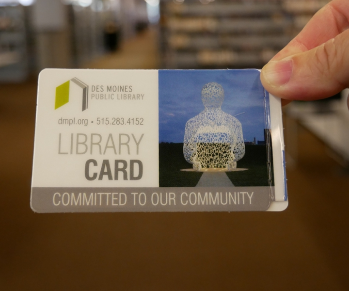 DMPL library card